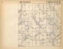 Fence T38N-R15E, Florence County 1957